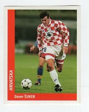 figurina DS CALCIATORI WORLD CUP FRANCE 98 NUMERO 354 CROAZIA SUKER
