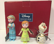 Disney Traditions Jim Shore Frozen's Young ELSA  & ANNA with Olaf 3 Figurine Set