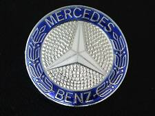 Mercedes w124 w201 Grill Badge emblem GENUINE oem insignia star laurel logo