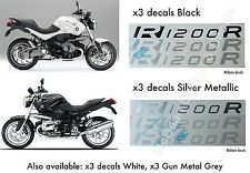 BMW R 1200R tank decals/sticker 2007-2014