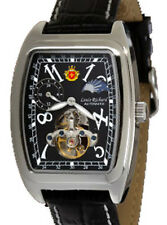 LOUIS RICHARD DAWSON MENS AUTOMATIC WATCH NEW BLK WHITE