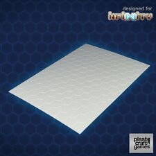 Plast Craft Games Scenics BNIB Scenery - 2mm hexagonal textured PVC sheet