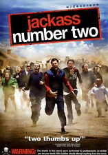 JACKASS: NUMBER TWO Movie Promo POSTER J Johnny Knoxville Bam Margera Steve-O