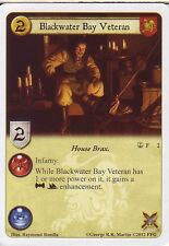3 x Blackwater Bay Veteran AGoT LCG 1.0 Game of Thrones Reach of the Kraken 2