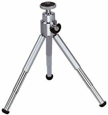 QUALITY MINI TABLE TOP VIDEO CAMERA PHOTO TRIPOD SILVER