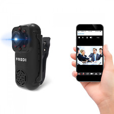 FREDI 720P Mini Portable Hidden Spy Camera Indoor / Outdoor Security WiFi Ip Cam