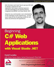 Beginning C# Web Applications with Visual Studio,GOOD Book