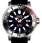 """BARBOS """"Marine Blue """" Automatik Taucheruhr Wasserdicht 1000m/100ATM Armbanduhr"""