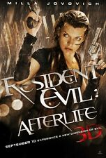 POSTER RESIDENT EVIL MILLA JOVOVICH 2 3 4 AFTER LIFE #1