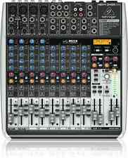 BEHRINGER XENYX QX1622USB 16-Input Mixer XENYX Preamps Interface + Full Warranty