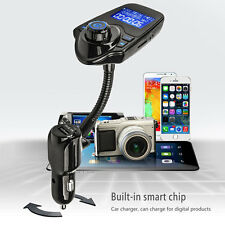Wireless Bluetooth FM Transmitter Radio Modulator Car MP3 Player USB LCD Charger