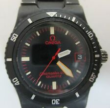 OMEGA SEAMASTER 120 MM BLACK MATTE QUARTZ