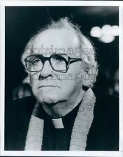 Barnard Hughes Father Brown Detective TV Movie Press Photo