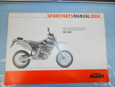 2004 KTM 660 SMC Chassis Spare Parts Manual 3208134