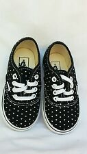 NEW VANS Authentic black/Mini stud Infant/Toddler Size 6 FREE SHIPPING
