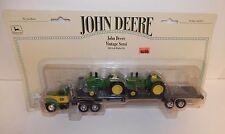 Ertl 1:64 John Deere Vintage Semi with 5020 Diesel Tractor Load #5934 NIP