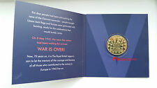 1945-2015 VE DAY ANNIVERSARY MEDAL IN A PRESENTATION PACK