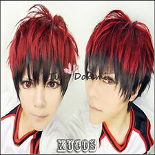 Kuroko's Basketball Kagami Taiga red black Cosplay wig Fashion Anime party/ hair