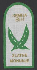 BOSNIA ARMY - Special squad ZLATNE MOHUNJE -  extremely rare sleeve patch