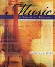 Music In Theory and Practice Volume 2 by Bruce Benward With CD Sealed