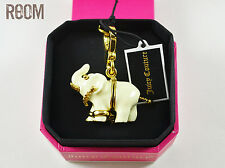 JUICY COUTURE White Elephant Charm with box