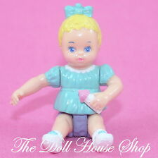 Playskool Dollhouse Blonde Baby Girl Doll Figure for Loving Family Nursery
