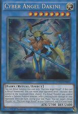 YU-GI-OH SECRET RARE CARD: CYBER ANGEL DAKINI - DRL3-EN014 - 1ST EDITION