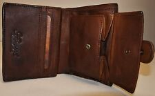 Shoreditch Vintage Mens Real Genuine Leather Wallet 9 Card & ID Bill