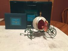 """WDCC Cinderella's Coach """"An Elegant Coach For Cinderella"""" with Box and COA"""