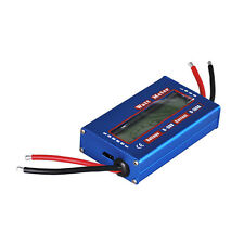 Digital LCD Watt Meter Power Volt Amp Meter RC Battery Analyzer 60V 100A DC NEW