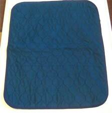 1 of Large Blue Washable Wheelchair Seat Armchair Incontinence pad Sheet