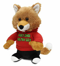"Cuddle Barn Animated Plush Toy Fox Jr. Sings ""What Does the Fox Say?"" CB7427"