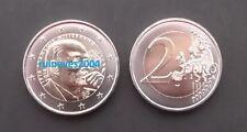 """2 Euro commemorative France 2016 """" François Mitterrand """" UNC"""
