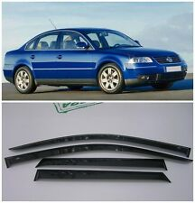 For VW Passat B5 Sd 1997-2005 Side Window Visors Sun Rain Guard Vent Deflectors