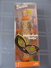 NIB BARBIE DOLL 2002 MASKERADE PARTY HALLOWEEN NEVER OPENED!