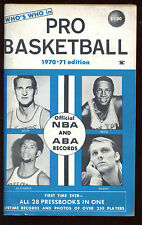 1970/1971 Who's Who in Basketball