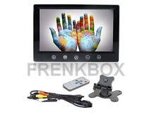 Mini Monitor 9 Pollici a colori doppio ingresso Video AV per videosorveglianza