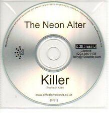 (50J) The Neon Alter, Killer - DJ CD