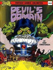 DEVIL'S DOMAIN VF! V&V Villains & Vigilantes FGU Module Superhero Adventure