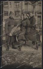 Portrait-Soldat-Wehrmacht-Esel-Maultier-Gruppenfoto