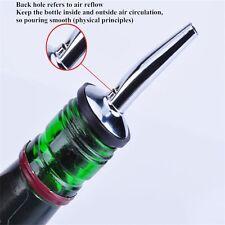 1PCS Stainless steel Olive Oil Pourer Dispenser Spout Glass Bottle Pourer HOTi