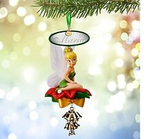 PERSONALIZED 2015 Disney Store Tinkerbell Light Up Sketchbook Christmas Ornament