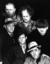 1943 Promotional Print 3 THREE STOOGES Glossy 16x20 Photo Larry Moe Curly Poster
