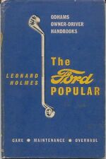 Ford Popular Handbook for the owner/driver pub. Odhams 1958