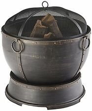 """Pleasant Hearth Athena Deep Bowl 28"""" Fire Pit, New, Free Shipping"""