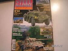 **d Steel Masters n°53 automitrailleuses Sdkfz 222 et 223 / EBR / Crusader