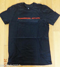 PARANORMAL ACTIVITY GHOST DIMENSION RARE SUPERNATURAL FILM PROMO T SHIRT L NEW
