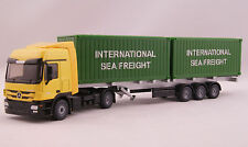 Siku 3921 Mercedes Benz Actros Truck with Container trailer Scale 1:50 New 2016