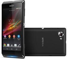 NUOVO Sony Xperia L Manichino Display Telefono-Nero-UK Venditore