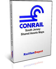 Conrail South Jersey Shared Assets Track & Yard Maps - PDF on CD - RailfanDepot
